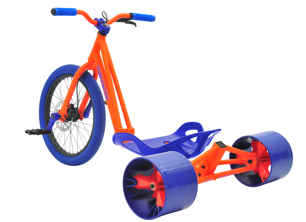 TRIAD SYNDICATE TRIKE ORANGE & BLUE