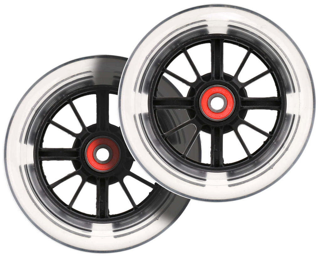 I-GLIDE FRONT WHEELS PAIR BLACK