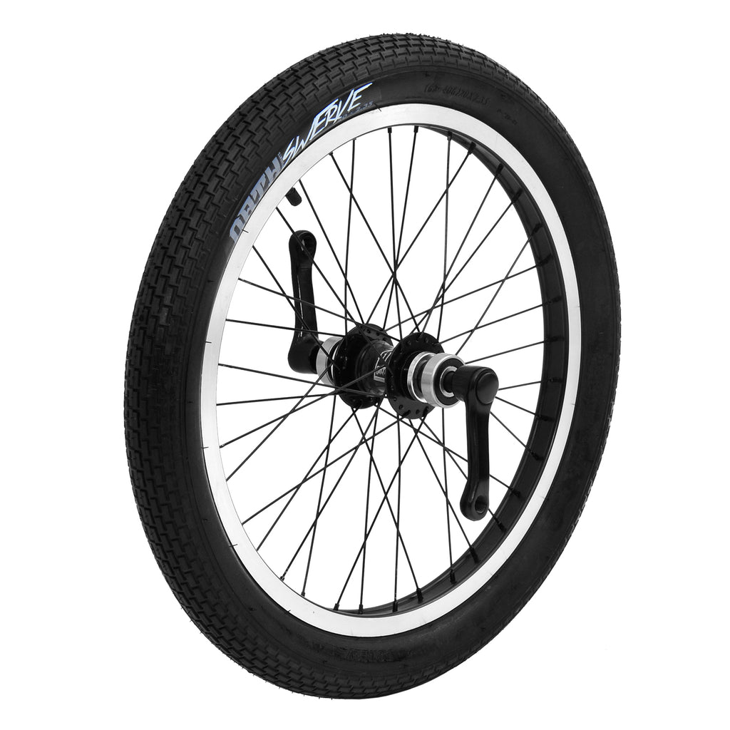 TRIAD CARTEL FRONT WHEEL SET BLACK