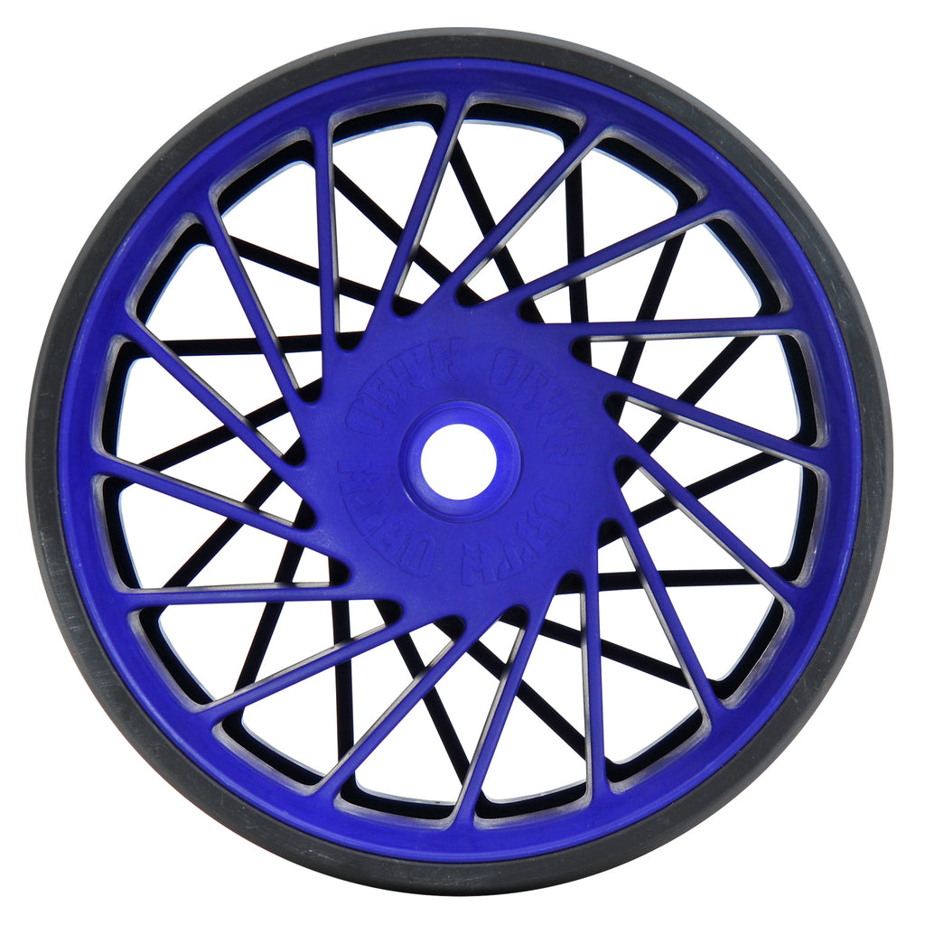 TRIAD VANGUARD  BLACK/BLUE WHEEL SET
