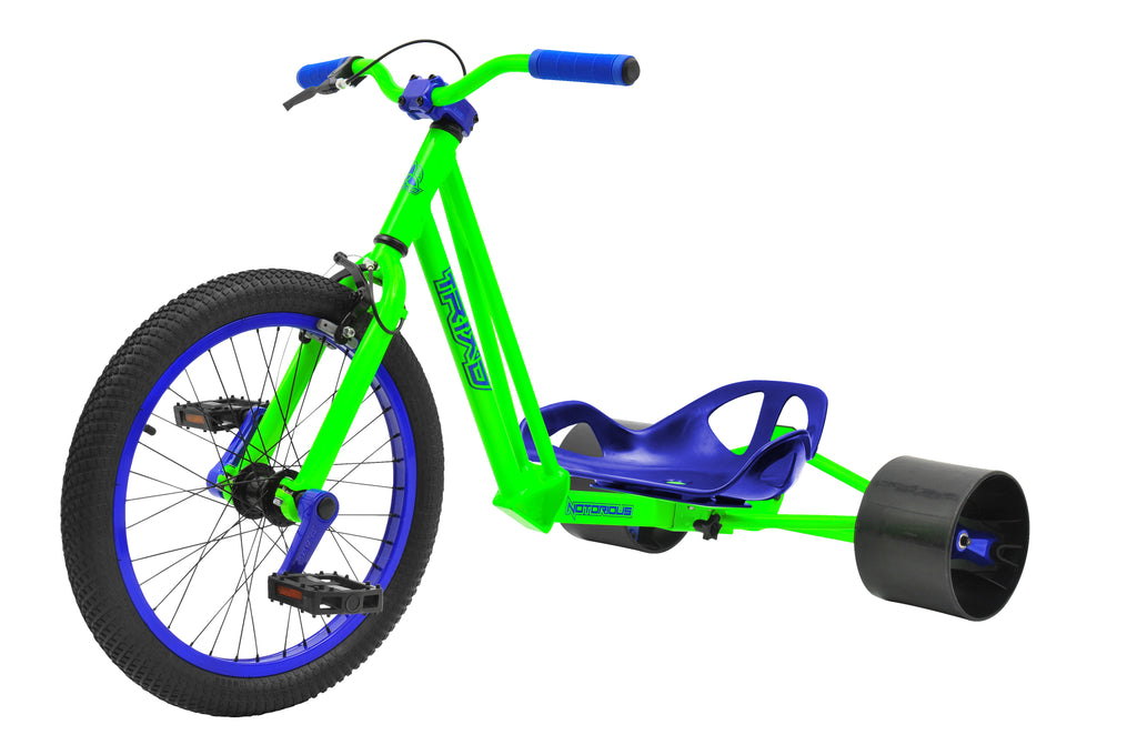TRIAD NOTORIOUS TRIKE GREEN & BLUE