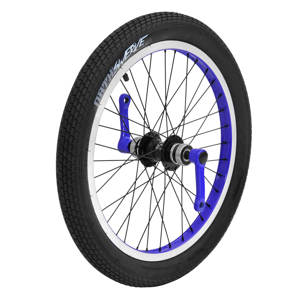TRIAD CARTEL FRONT WHEEL SET BLUE