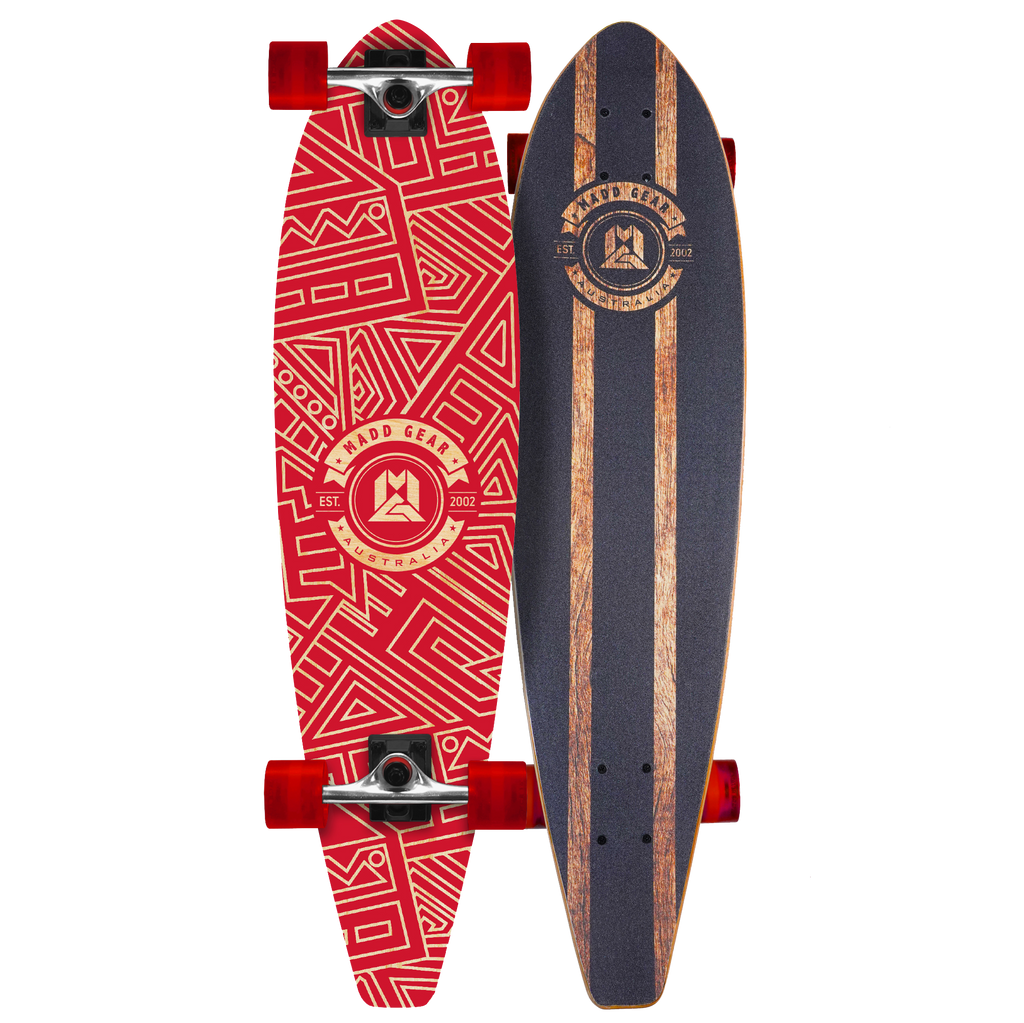 "MADD GEAR 36"" LONG BOARD OCHER"
