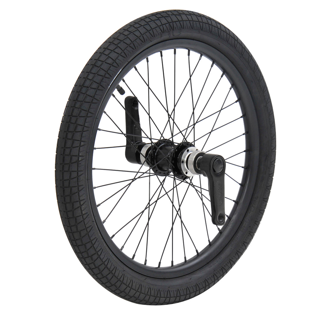 TRIAD DYNASTY FRONT WHEEL SET BLACK