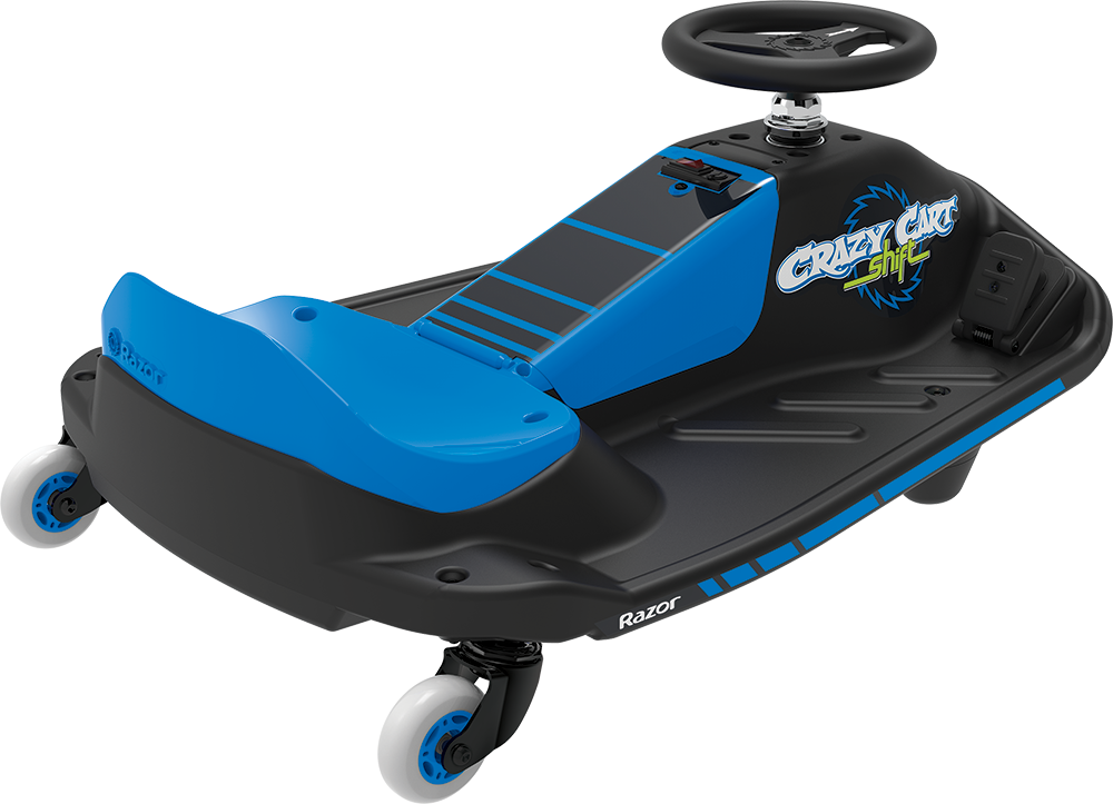 CRAZY CART SHIFT BLUE / BLACK REAR