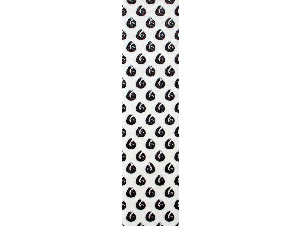 HELLA GRIP SLOTH DOT BLACK ON WHITE GRIPTAPE