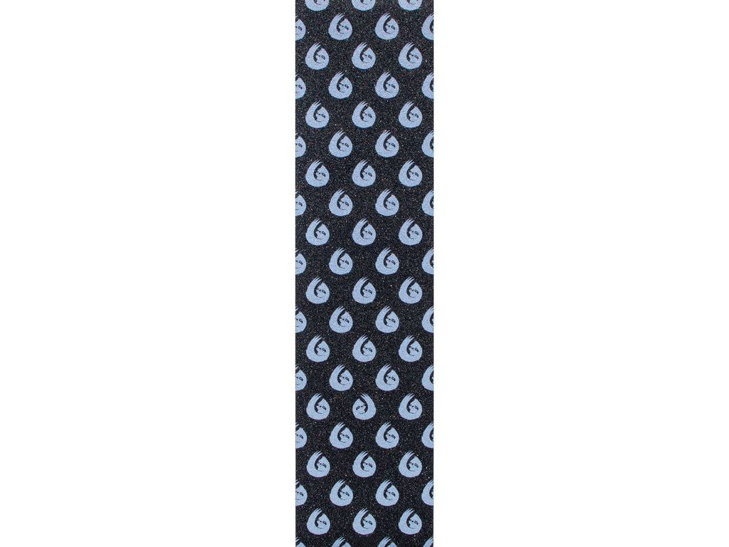 HELLA GRIP SLOTH DOT WHITE ON BLACK GRIPTAPE