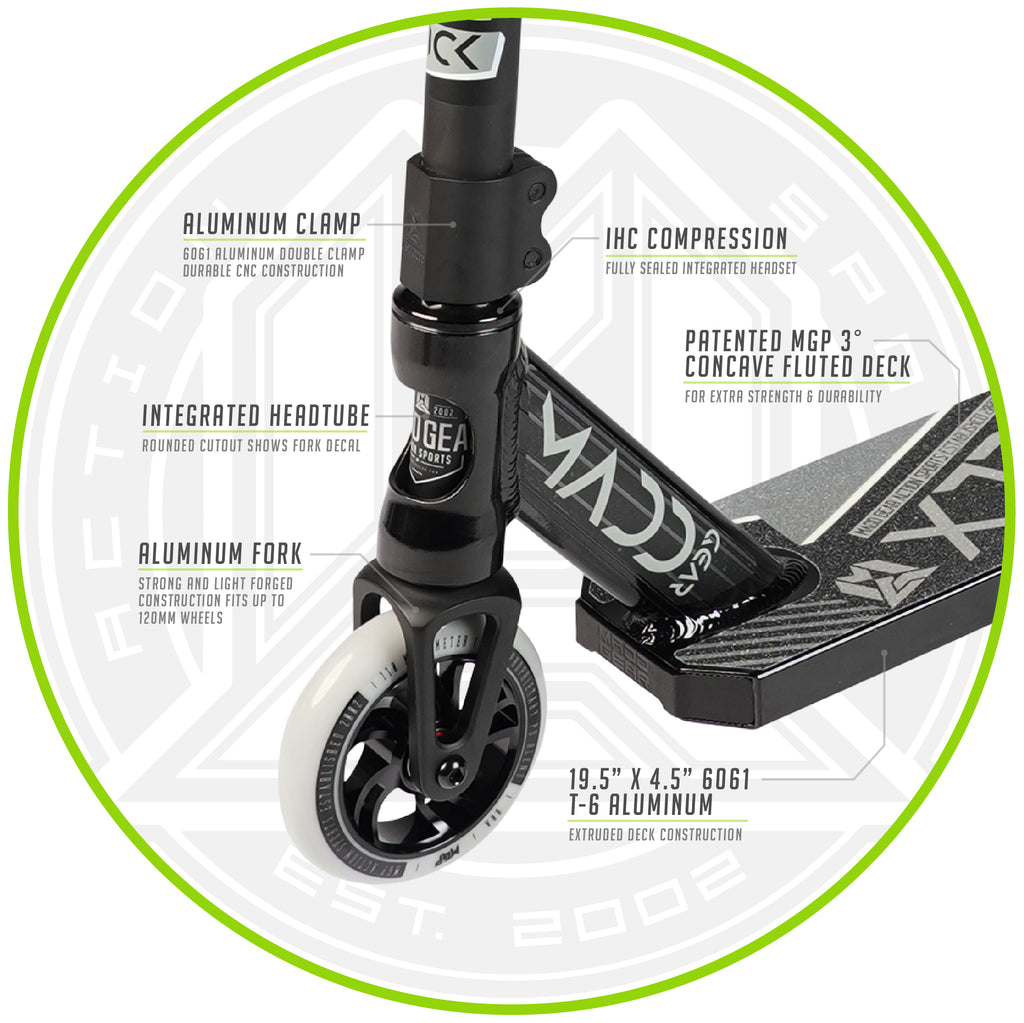MADD GEAR KICK EXTREME SCOOTER BLACK / SILVER