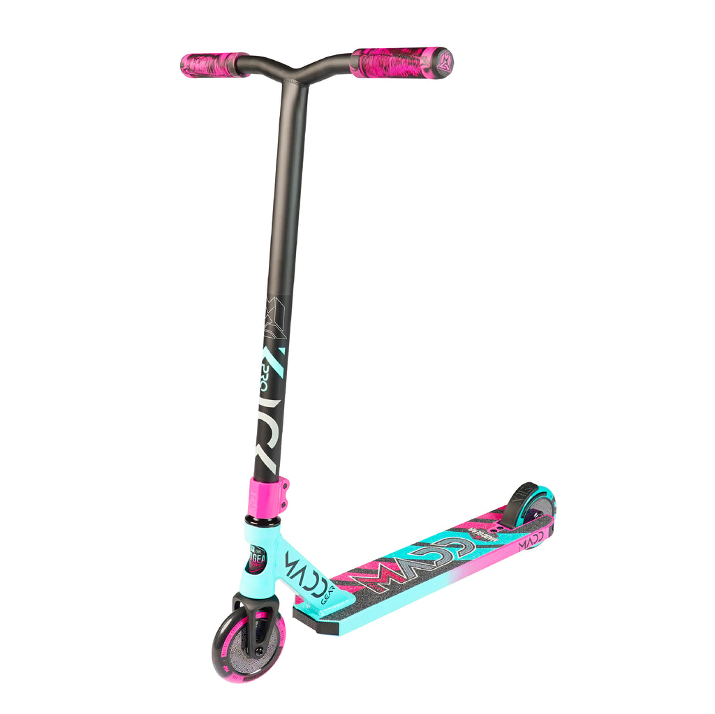 MADD GEAR KICK PRO SCOOTER TEAL / PINK