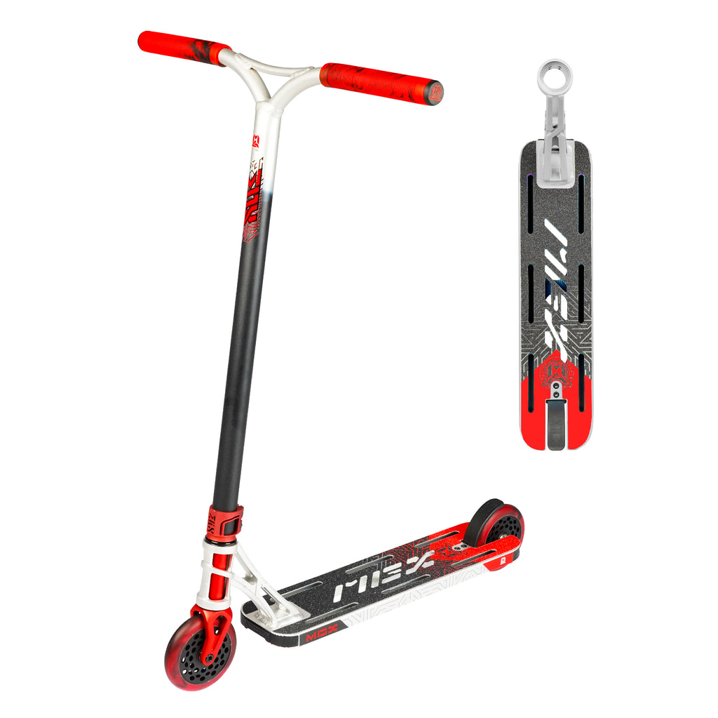 MGX E1 EXTREME SILVER / RED SCOOTER