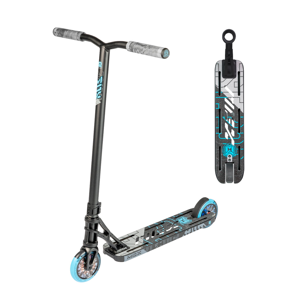 MGX P1 PRO BLACK / BLUE SCOOTER