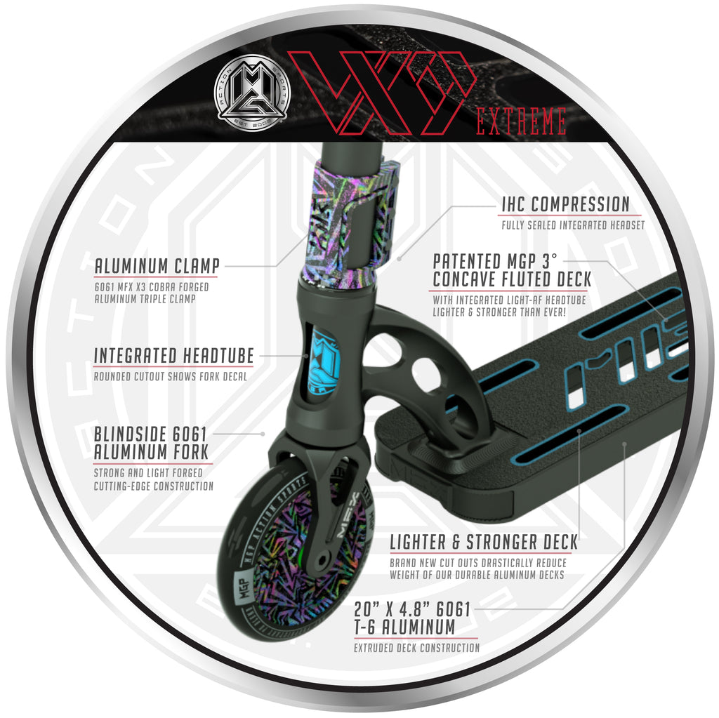 VX9 EXTREME SCOOTER MISFIT