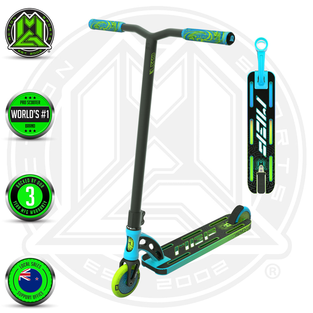VX9 PRO SCOOTER BLUE / GREEN