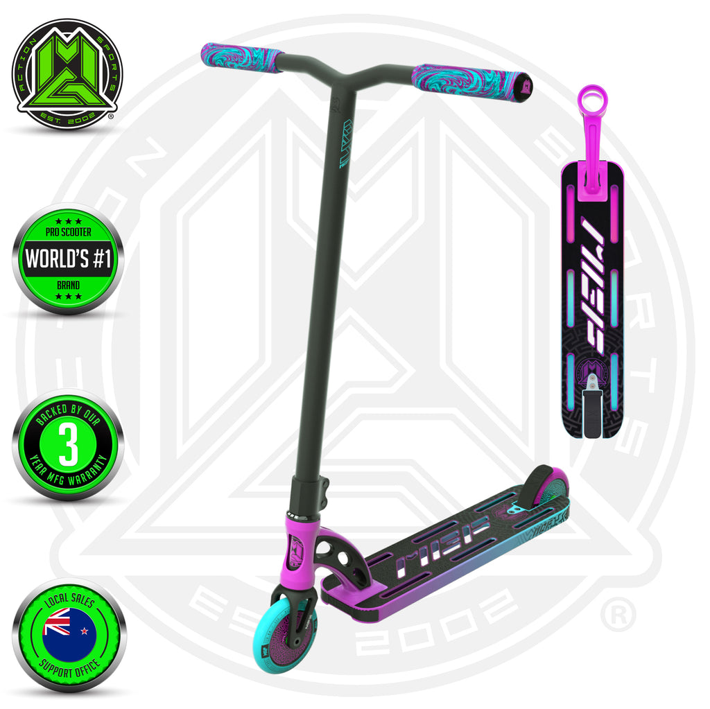 VX9 PRO SCOOTER PINK / TEAL