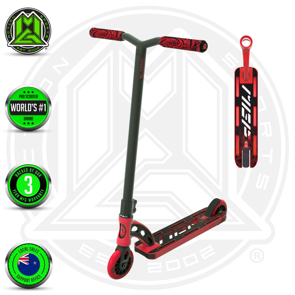 VX9 SHREDDER SCOOTER RED
