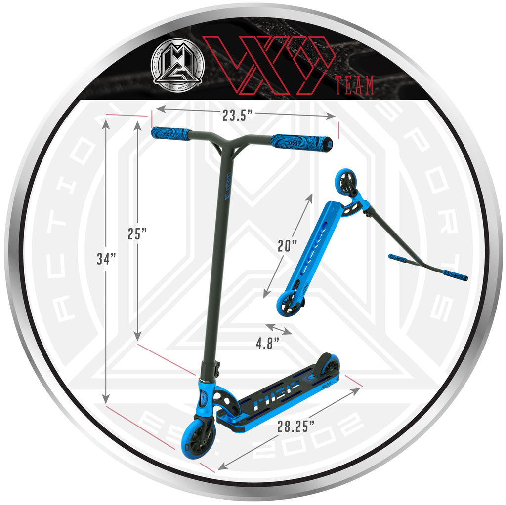 VX9 TEAM SCOOTER BLUE