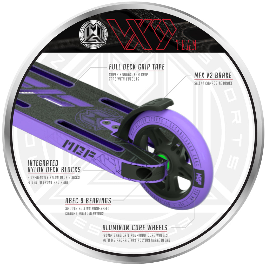 VX9 TEAM SCOOTER PURPLE