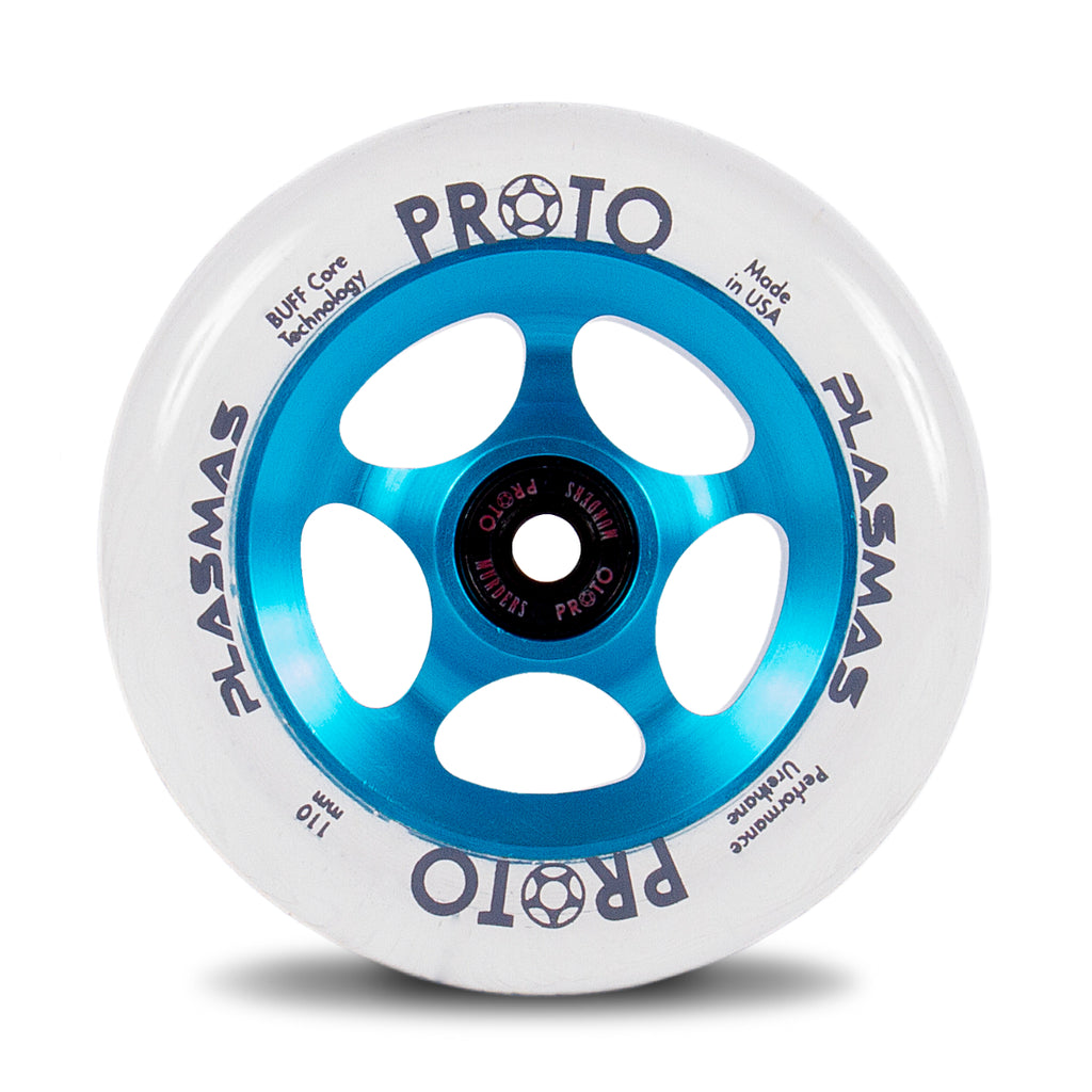 PROTO PLASMAS 110MM WHEELS ELECTRIC BLUE 2 PACK