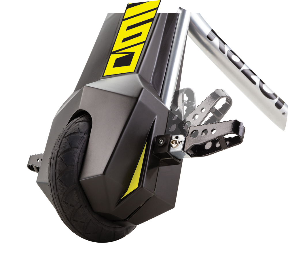 POWER RIDER 360 BLACK / YELLOW