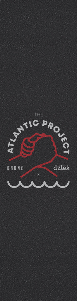 DRONE X AZTEK THE ATLANTIC PROJECT GRIPTAPE