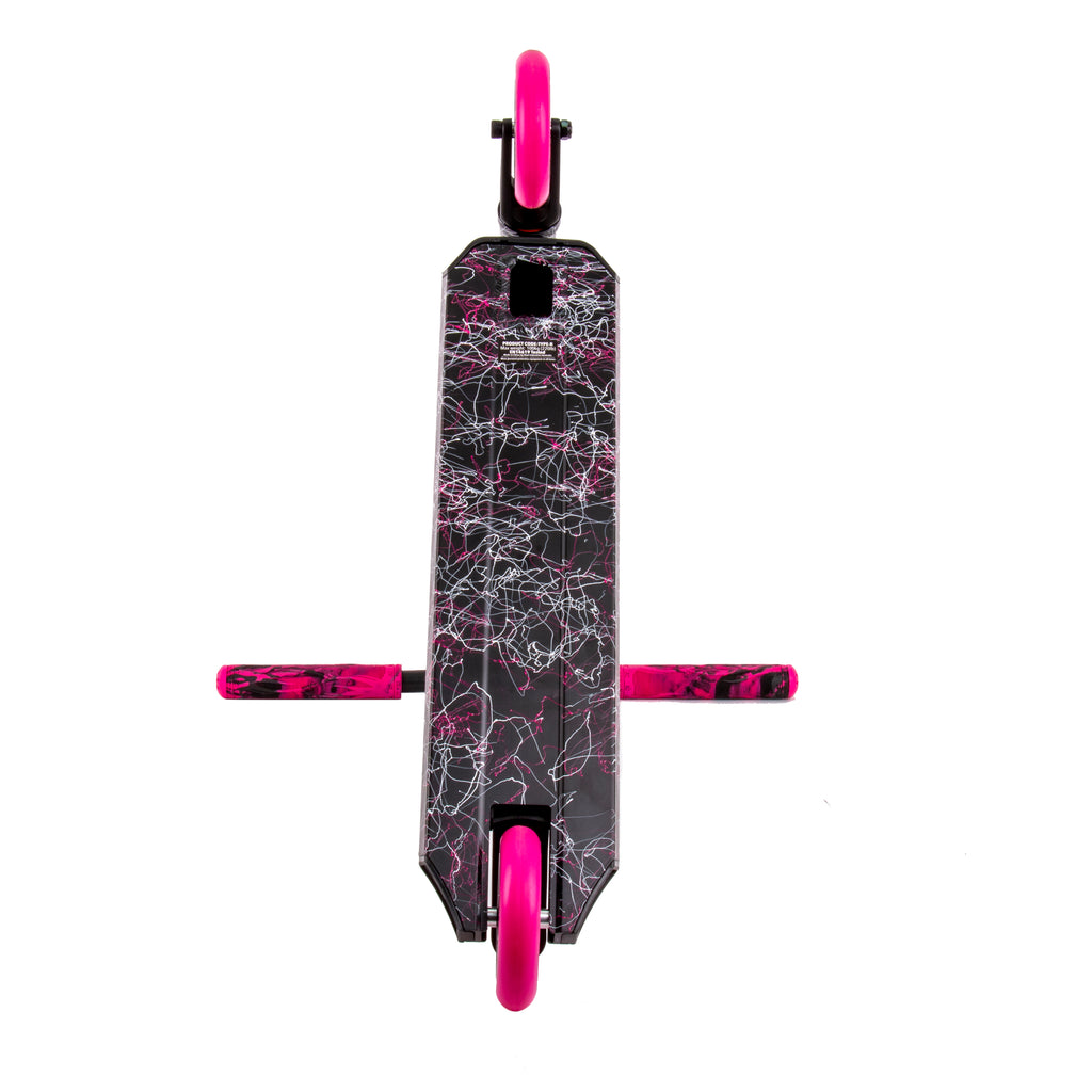 ROOT TYPE R SCOOTER BLACK / PINK / WHITE