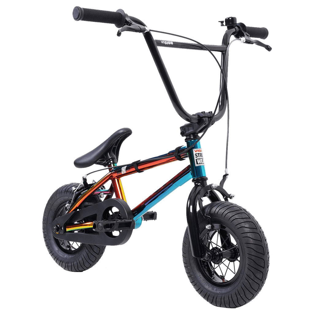 "VISION MINI BMX BIKE 10"" NEO CHROME"