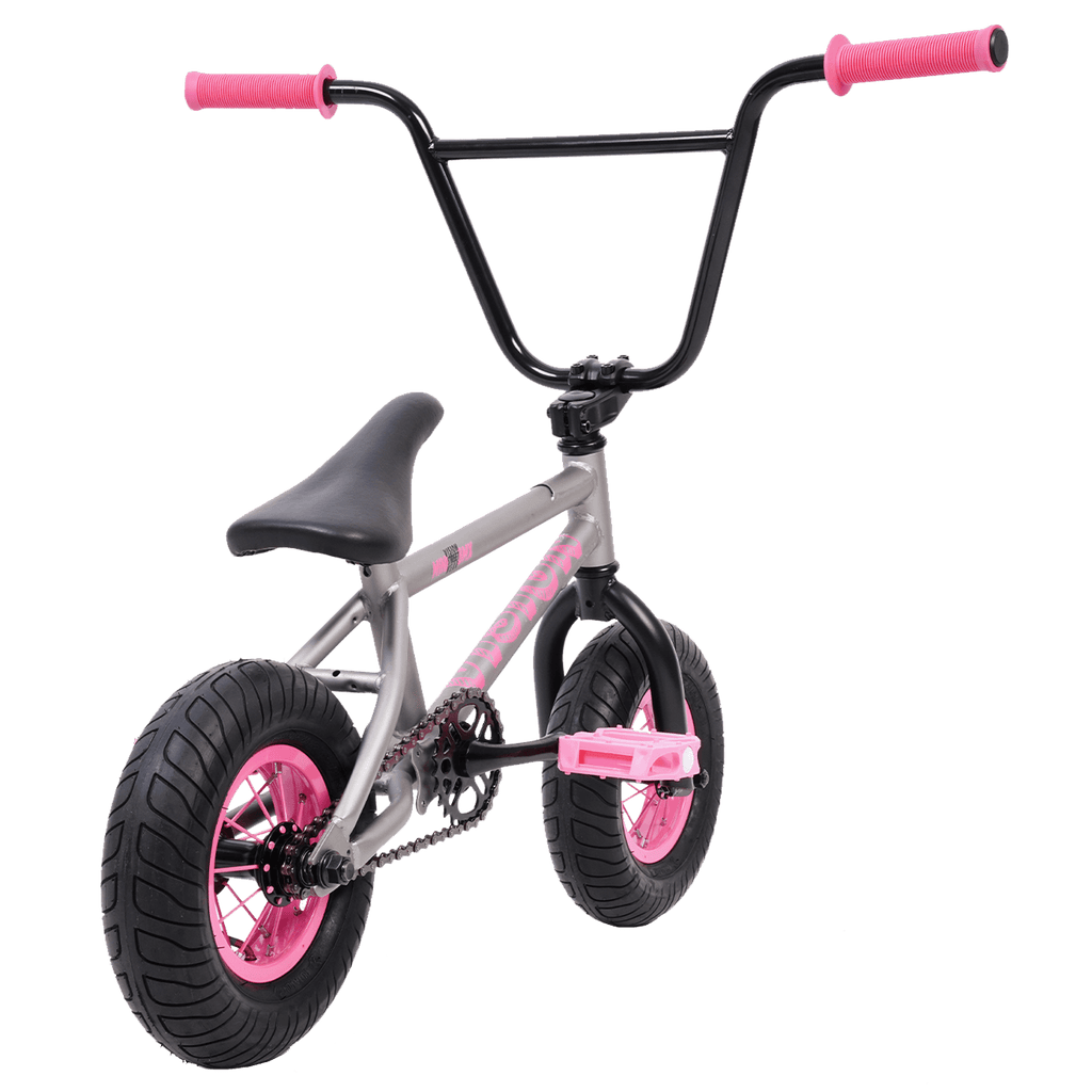 "VISION MINI BMX BIKE 10"" GREY / PINK"