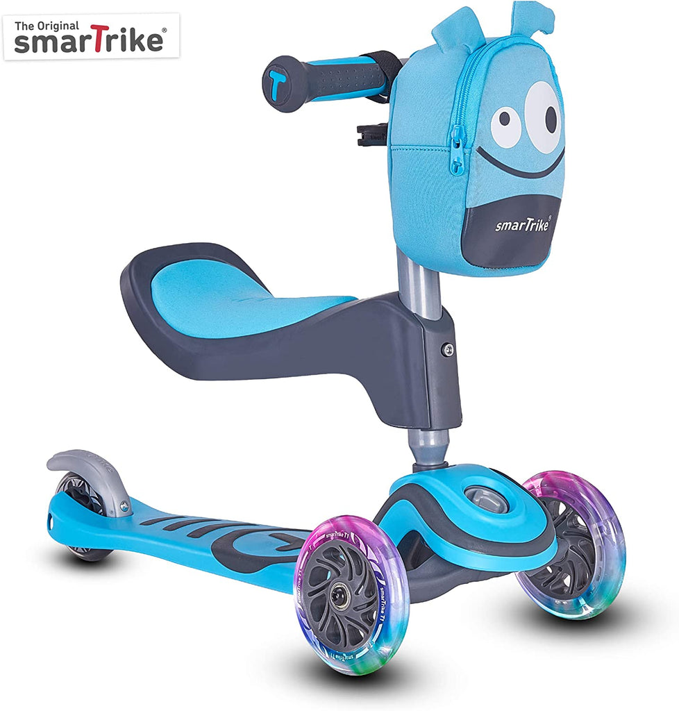 SMARTRIKE T1 SCOOTER - BLUE