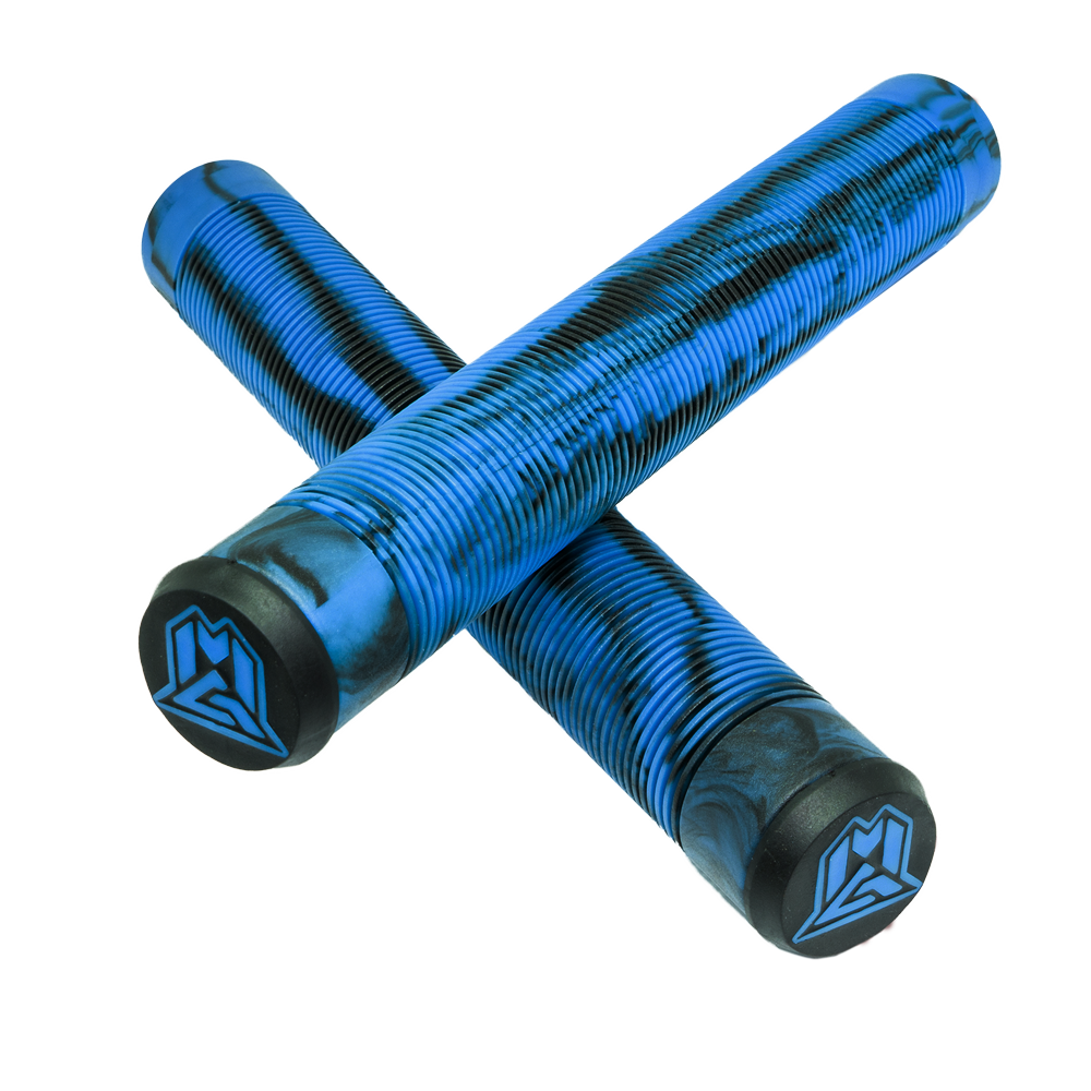MADD MFX 180MM TPR GRIPS BLUE