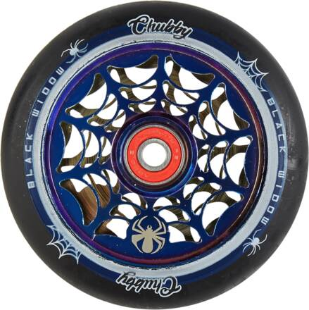 CHUBBY 110MM BLACK WIDOW WHEEL BLUE