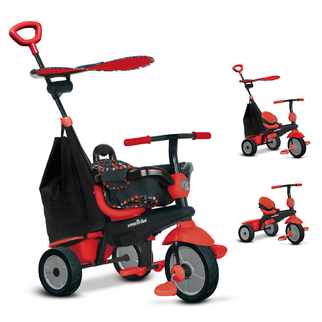 SMARTRIKE DELIGHT. 3 IN 1 TRIKE - RED
