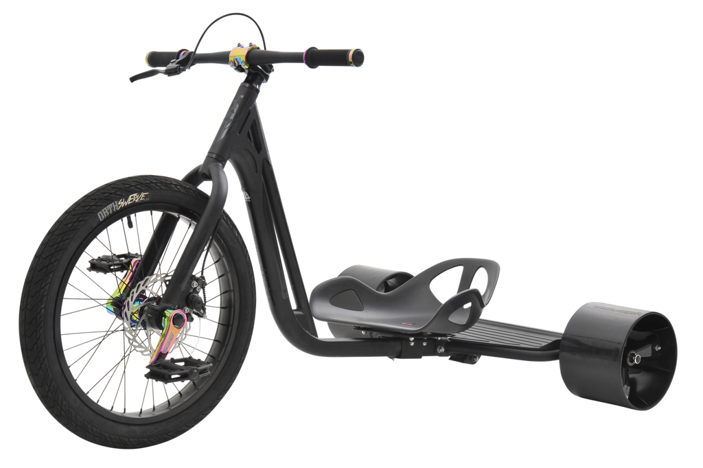 TRIAD NOTORIOUS 3 BLACK / NEO CHROME TRIKE