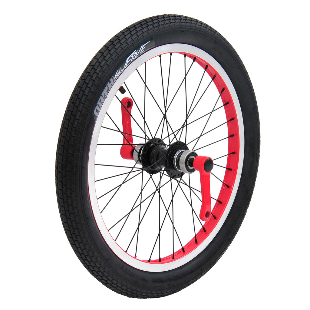TRIAD CARTEL FRONT WHEEL SET RED