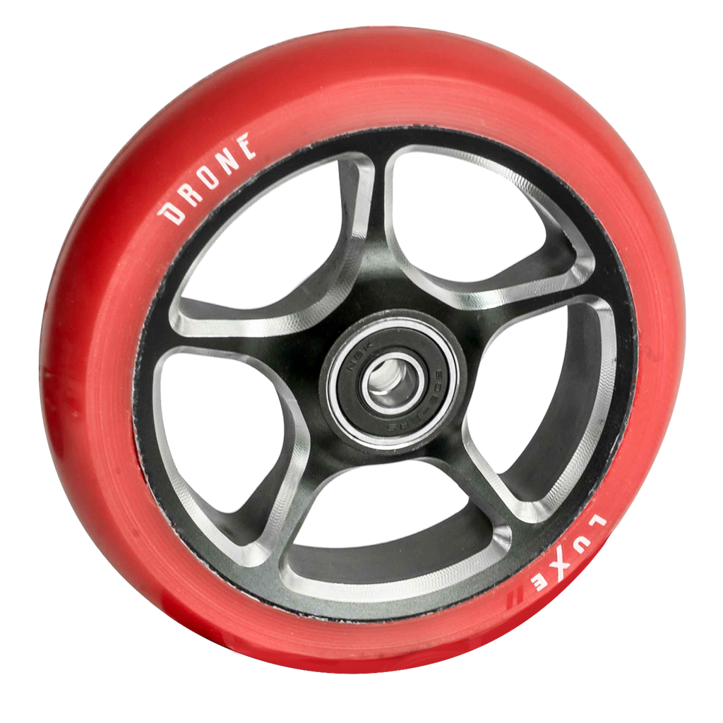 DRONE 120MM LUXE 2 WHEEL - RED