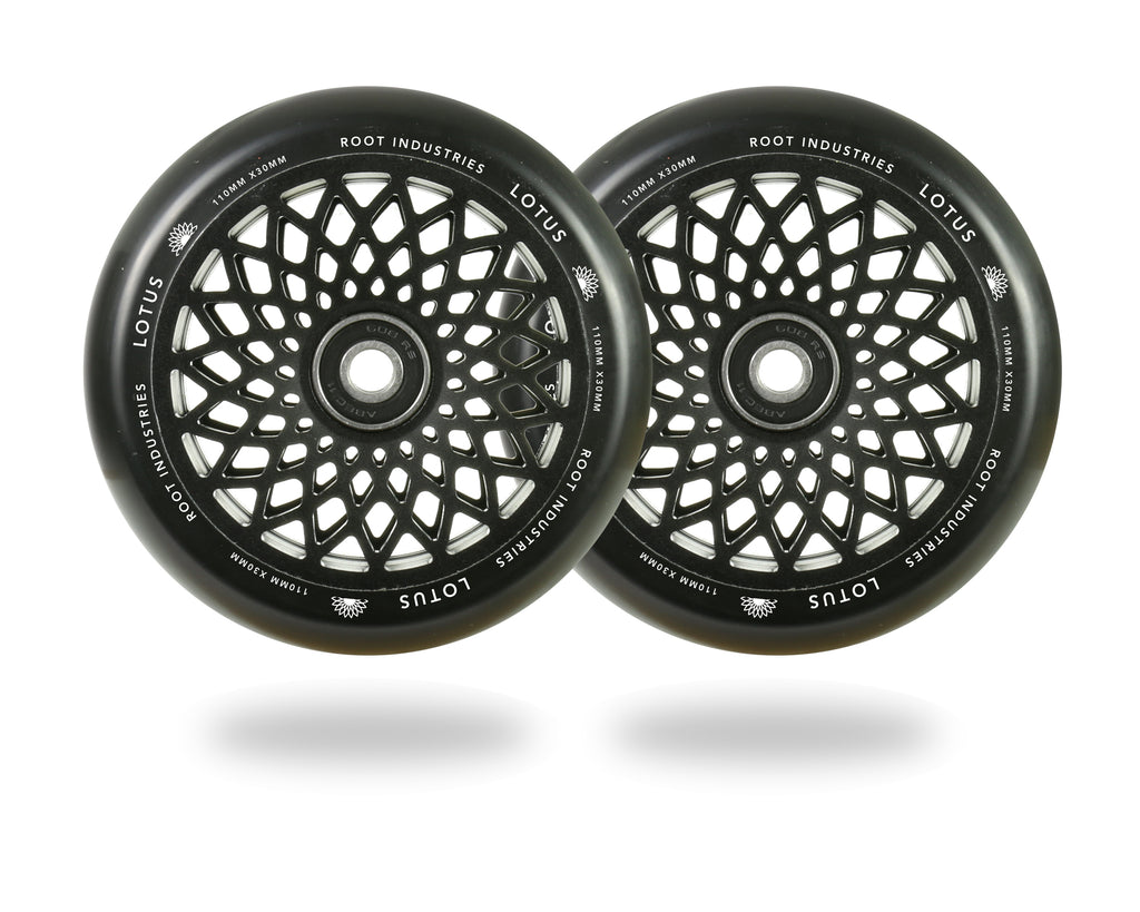 ROOT 110MM LOTUS WHEELS BLACK