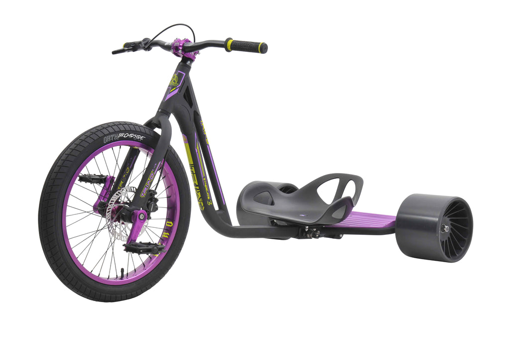 TRIAD SYNDICATE 3 BLACK / PURPLE TRIKE