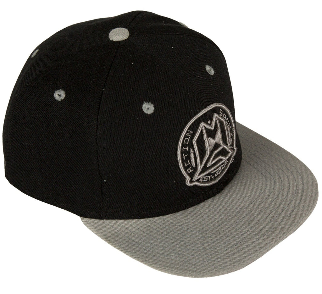 MG SNAPBACK CAP BLACK