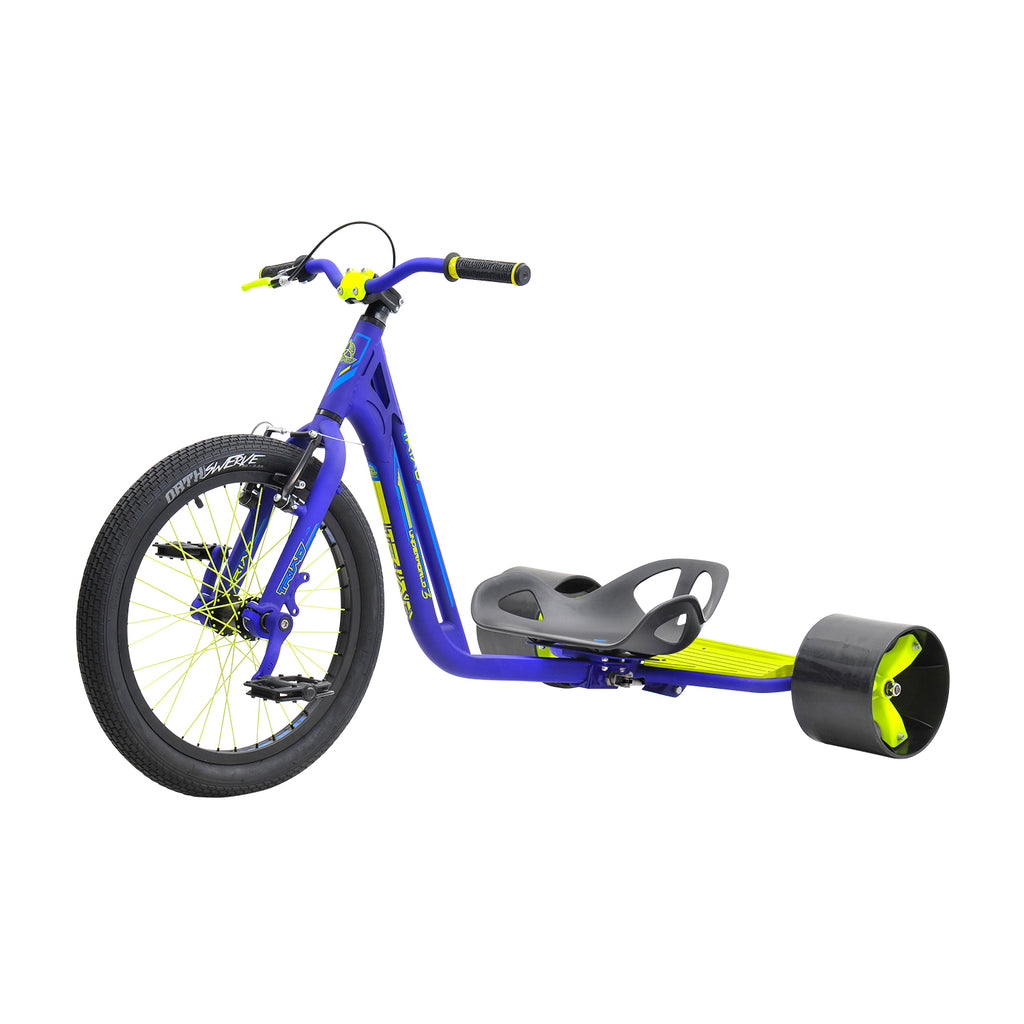 TRIAD UNDERWORLD 3 BLUE / YELLOW TRIKE