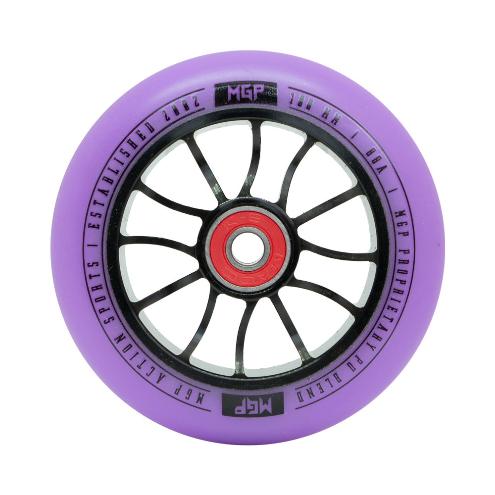 100MM MADD GEAR FORCE WHEEL PURPLE