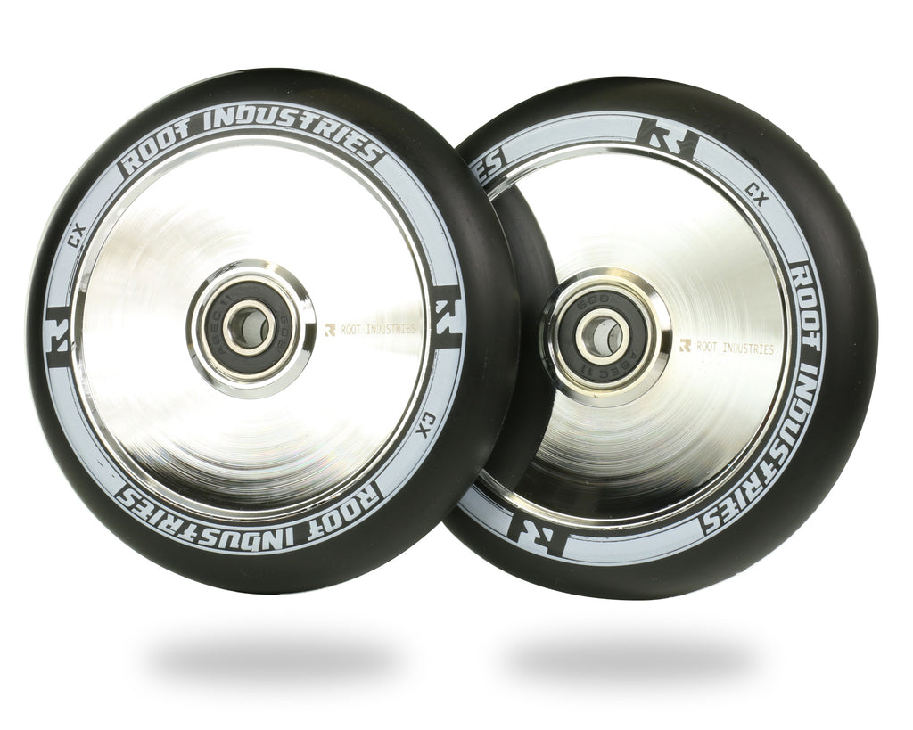 ROOT 110MM AIR WHEELS - BLACK / MIRROR 2 PACK