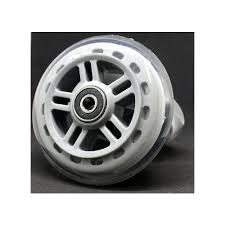 A SERIES WHEELS 98MM W/BEARINGS CLEAR