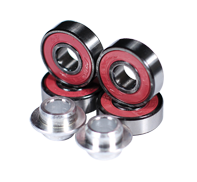 BEARINGS K2 SET OF 4 PINK