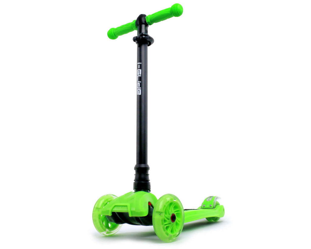 I-GLIDE 3 WHEELED SCOOTER GREEN MAIN
