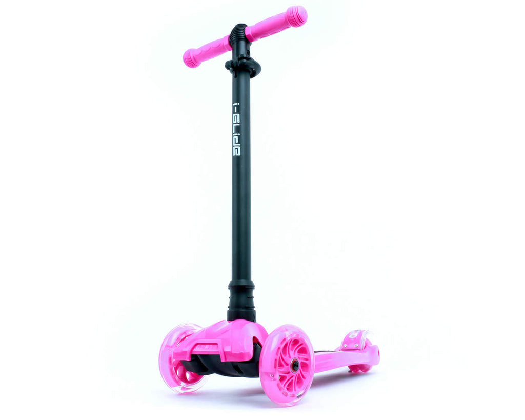 I-GLIDE 3 WHEELED SCOOTER PINK MAIN