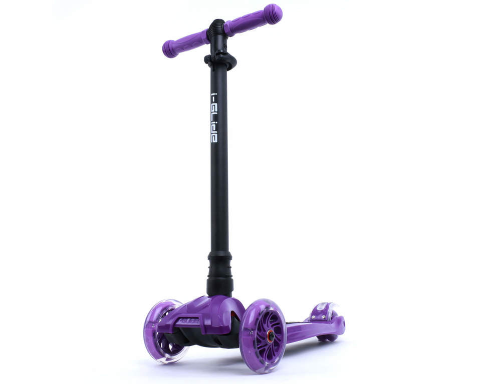 I-GLIDE 3 WHEELED SCOOTER PURPLE