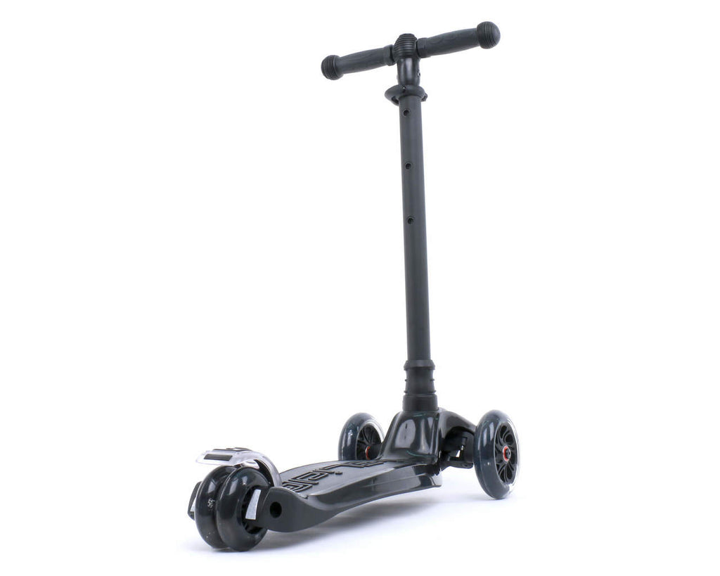 I-GLIDE 3 WHEELED SCOOTER BLACK REAR