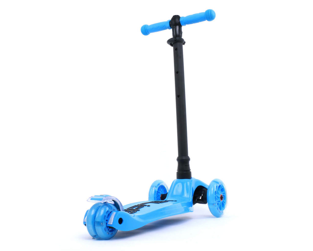 I-GLIDE 3 WHEELED SCOOTER BLUE REAR