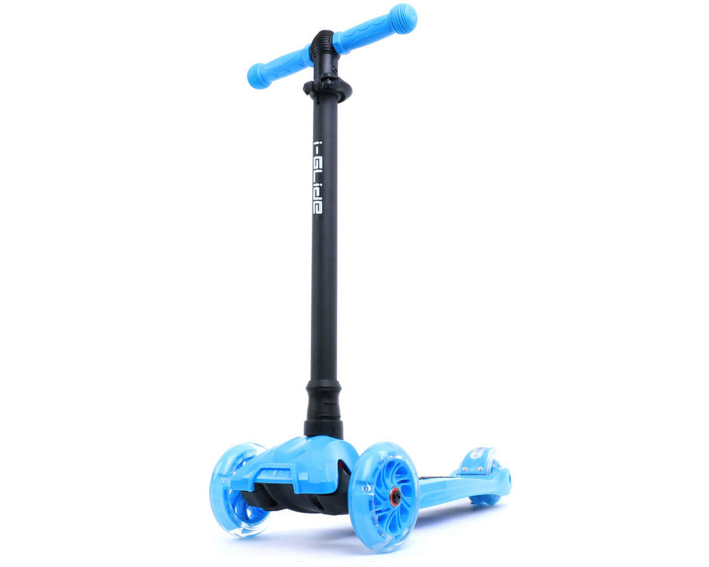 I-GLIDE 3 WHEELED SCOOTER BLUE MAIN