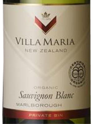 Villa Maria Organic Sauvignon Blanc Private Bin 2019, Hvidvin, New Zealand, Marlborough, 12,5%,