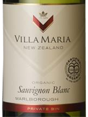 Villa Maria Organic Sauvignon Blanc Private Bin 2018, Hvidvin, New Zealand, Marlborough, 12,5%,